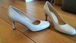 Escarpins blanc perlé Perlato neuve - T37 - Occasion du Mariage