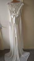 Robe fourreau dentelle perlée - Occasion du Mariage