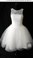 Robe courte Pearly Queen - Occasion du Mariage