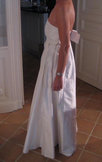 robe de marie tara jarmon en soie jamais porte en 2013 - Tara Jarmon Mariage