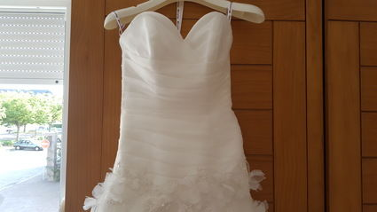 robe de marie 3638 de point mariage aube - Point Mariage Troyes