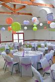 Décoration salle de mariage - Occasion du Mariage