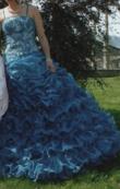 Robe de mariage bleu  - Occasion du Mariage