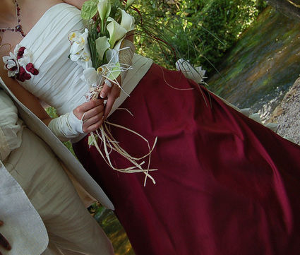 robe de marie oreste doccasion de chez point mariage - Point Mariage Perpignan