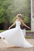 Robe de mariée Cymbeline. Jamais portée.Neuve - Occasion du Mariage