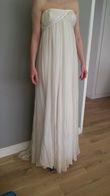 Robe de mariée bustier en soie du créateur D. Fielden - Occasion du Mariage
