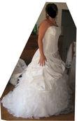 Robe de Mariée Bella Paris Comme neuve - Occasion du Mariage