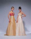 robe cuivre et or avec jupon - Occasion du Mariage