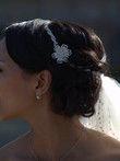 Bijou de tête perles - Occasion du Mariage