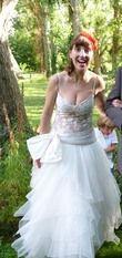 Robe de mariée avec dentelle - Occasion du Mariage
