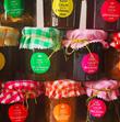 Lot de 48 étiquettes pots de confitures - Occasion du Mariage