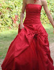 Robe Boreal d\'Eglantine - Rouge - Occasion du Mariage