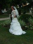 Robe de mariée BERMUDE ivoire avec accessoires - Occasion du Mariage