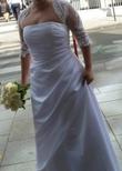 Robe de mariée bustier blanche  - Occasion du Mariage