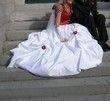 Robe de mariée avec le jupon - Occasion du Mariage