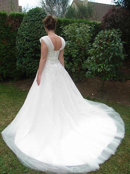Robe de mariée Miss Kelly fabrication française doccasion