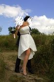 Robe de mariée courte/ bustier - Occasion du Mariage