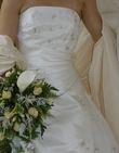 Robe, jupon et étolle - Occasion du Mariage