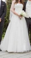belle robe bustier ivoire - Occasion du Mariage