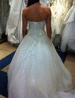 Robe de mariée DEMETRIOS réf 536 blanche taille 36 - Occasion du Mariage