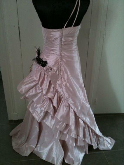 robe de mari e coloris vieux rose d 39 occasion t36 38. Black Bedroom Furniture Sets. Home Design Ideas