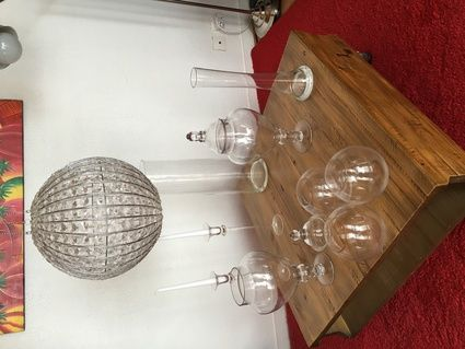 Ensemble de décoration en verre Charente Maritime