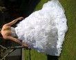 superbe robe de mariée avec plumes d\'autruche - Occasion du Mariage