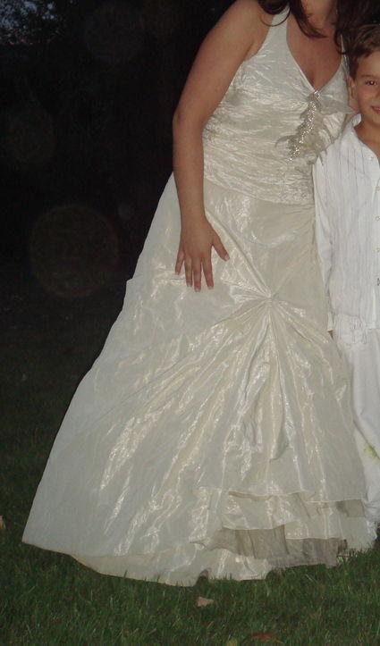 Robe de mariée Linea Raffaelli jupe et bustier d'occasion en 2013