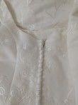 Robe blanche Pronuptia Paris T36 / S - Occasion du Mariage