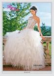 Magnifique robe de mariée avec jupon et voile - Occasion du Mariage
