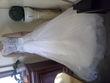 robe de mariée ornés de perles et sequins  - Occasion du Mariage