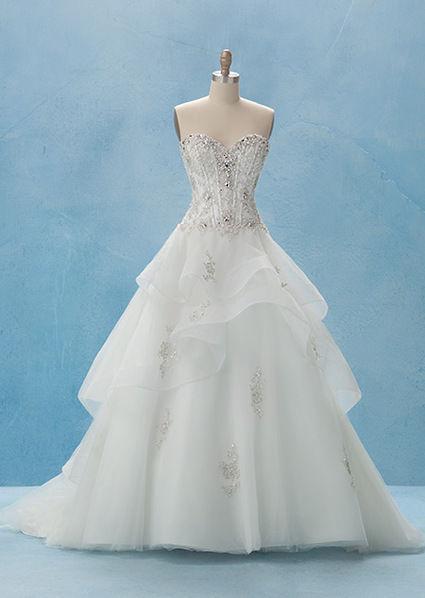 Robe de mariée Disney princesse 2013 du créateur Alfred Angelo