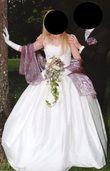 Robe de mariée pure soie + bustier - Occasion du Mariage