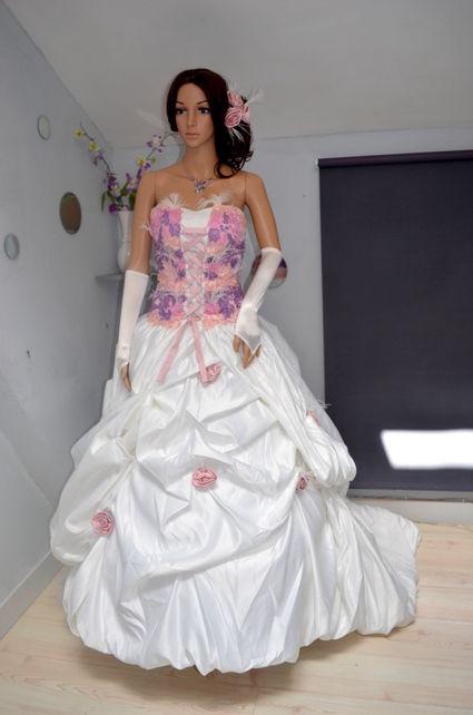 Robe à la mode: Robe mariee pas chere originale