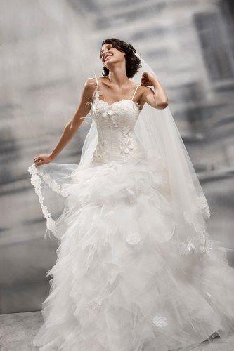 Robe de mariée bustier et tulle Alexis Mariage doccasion