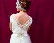 Robe de mariée courte, jupe tutu - Occasion du Mariage
