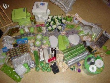dcoration de mariage vert anis argent pas cher en 2012 occasion du mariage - Deco Mariage Pas Chere