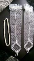 Accessoires de mariée - voile,mitaines,collier - Occasion du Mariage