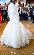 Robe de mariée sirène pronovias dentelle - Occasion du Mariage