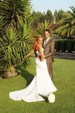 Robe dentelle bustier - Occasion du Mariage