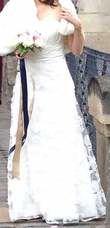 Robe de mariée Capucine de Bohême, collection Pronuptia - Occasion du Mariage