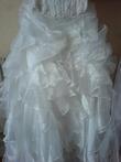 Robe de mariée d'occasion collection Empire du mariage avec cerceau et traîne