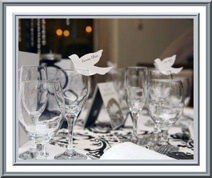 Décoration de table de mariage pas cher Paquets de 100