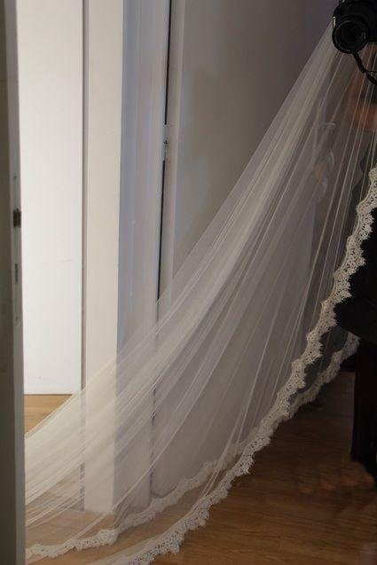 Voile de mariée de 3m style Bohème Chic,