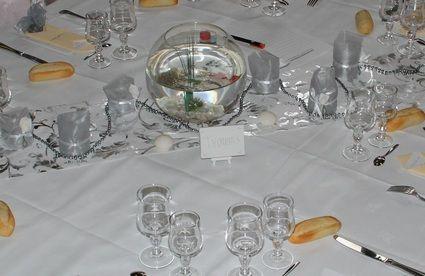 Décoration salle, table et accesoires de mariage doccasion pour 2013
