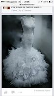 Robe de marie sirene taille 36 38 - Occasion du Mariage