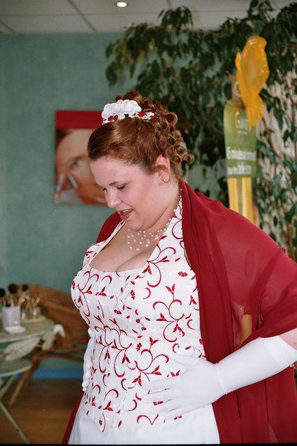 robe de marie grande taille bordeau cru gupire jupon et jarretire - Guepiere Mariage Grande Taille