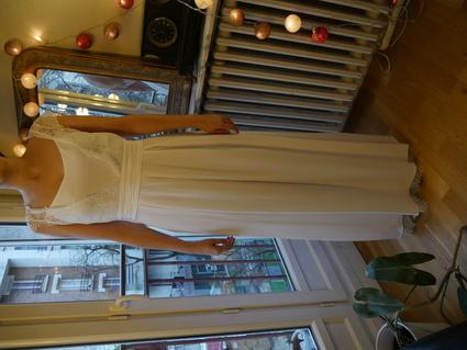 robe de mari e longue lorafolk pour monoprix paris. Black Bedroom Furniture Sets. Home Design Ideas