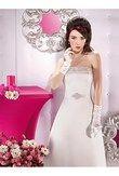 Robe de mariée satin bustier ivoire - Occasion du Mariage