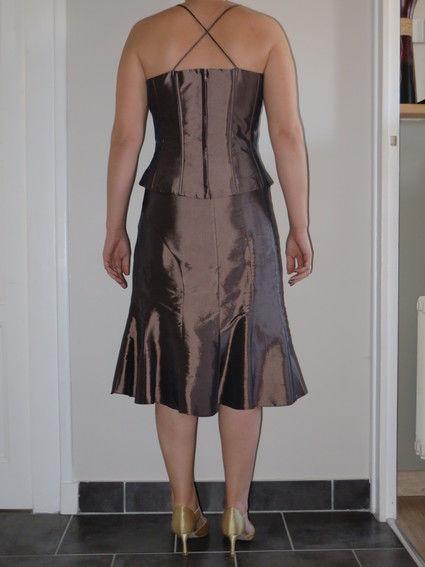 robe l gante pour c r monie de mariage d 39 occasion. Black Bedroom Furniture Sets. Home Design Ideas
